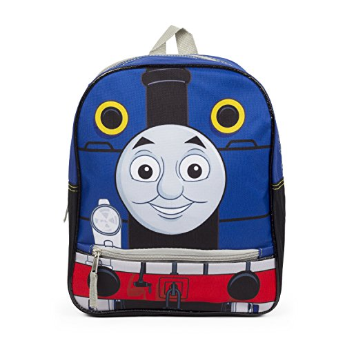 Thomas the Tank Blue Engine Train 12 inch Backpack School - Engine Cases Block