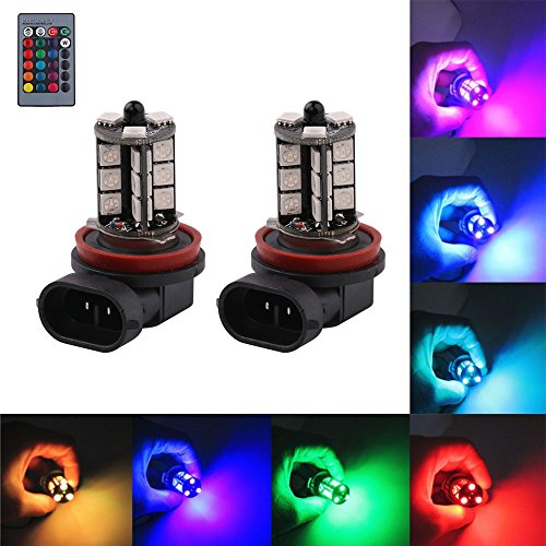 Multi Color Led Fog Light Bulb in US - 2