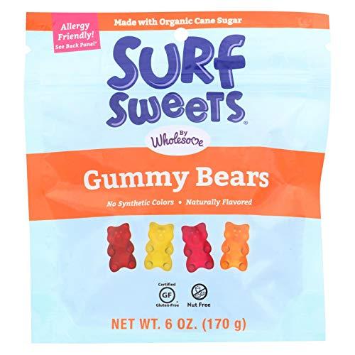 (SURF SWEETS, GUMMY BEARS, OG3 - Pack of 6)