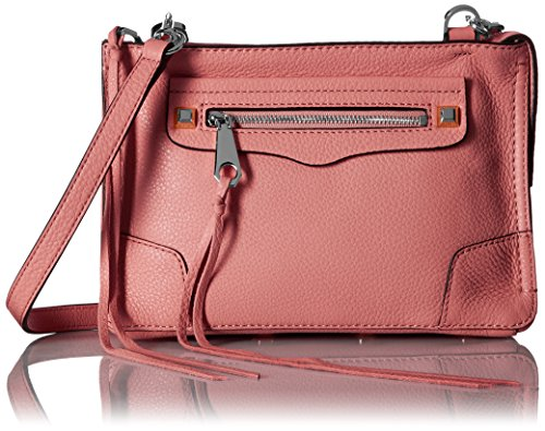 Rebecca Minkoff Regan Cross Body Bag, Guava, One Size by Rebecca Minkoff