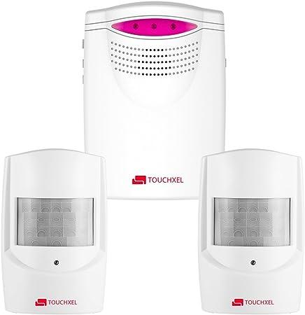 Sans Fil Alarm Capteur IR Infrarouge Détecteur Mouvement Garage Porte et fenêtre