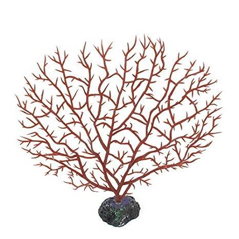 DealMux acuarios de plástico artificial decoración vegetal Coral, 16 cm, Rojo: Amazon.es: Productos para mascotas