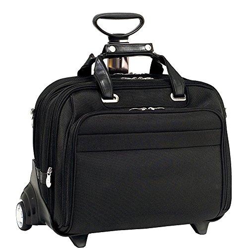 Mcklein USA 76605 Midway , 15.6'' Nylon Check point friendly Detachable Wheeled Laptop case by McKleinUSA