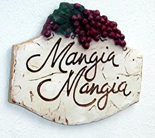 product image for Piazza Pisano Mangia Mangia Italian Wall Plaque