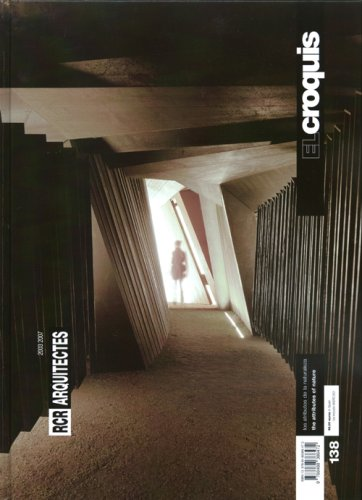 El Croquis 138: RCR Architects (Spanish Edition)