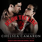 Below the Line: Devil's Due MC, Book 2 | Chelsea Camaron