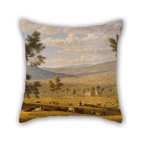 Slimmingpiggy The Oil Painting John Glover - Patterdale Farm Throw Pillow Covers Of ,20 X 20 Inches / 50 By 50 Cm Decoration,gift For Car,office,seat,teens Girls,deck Chair,bedding (each Side) (George Mcfly Costume)
