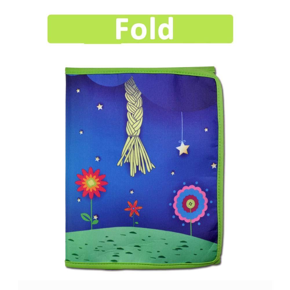 Earlyad Baby Cloth Book Educaci/ón Temprana No t/óxico Lavable Soft Juguetes educativos interactivos Juego de Juguetes de Tela est/éreo 3D para ni/ños en Edad Preescolar Ni/ños ni/ña Juguete cognitivo