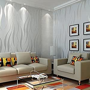 beite modern non woven embossed textured 3d wallpapers for