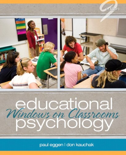 Educational Psychology: Windows on Classrooms Plus MyEducationLab with Pearson eText -- Access Card Package (9th Edition