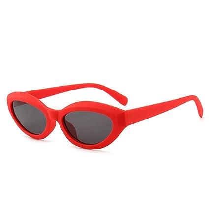 Yangjing-hl Gafas de Sol Ms. Square Gafas de Sol con Montura ...