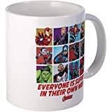 CafePress - Avengers Everyone Is Super Mug - Unique Coffee Mug, Coffee Cup