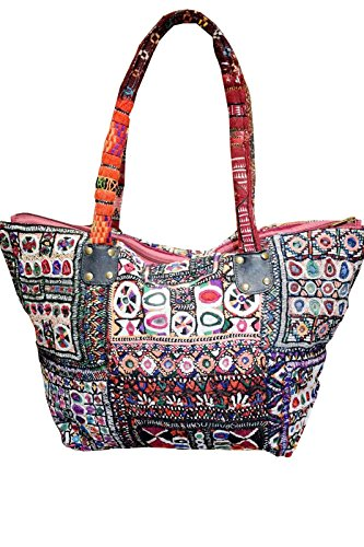 HOBO BG71 Embroidery Tassels BAG Trible Handmade Crossbody Banjara amp; INDIA RXwqFRrfn