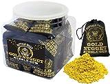Buffalo Bills Gold Nugget Bubble Gum 20-Ct Tubs (20 black 2oz burlap bags of gold nugget bubble gum) offers