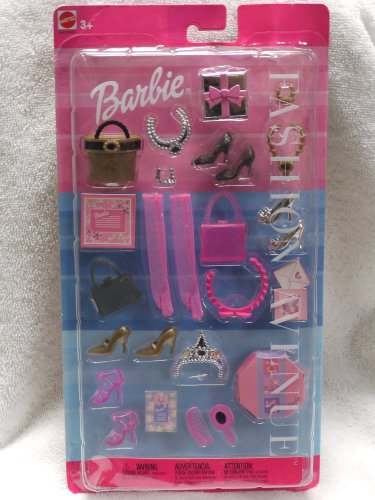 Barbie Fashion Avenue Accessories (2002) - Formal Wear - Barbie Gloves