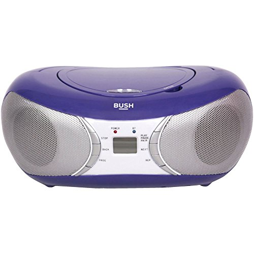Bush Bluetooth Boombox - Purple (Boombox Purple Player Cd)