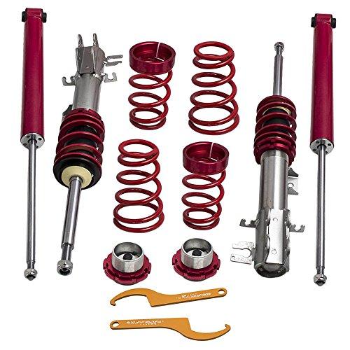 maXpeedingrods Adjustable Suspension Kits Coilover Struts for Fiat Grande Punto 199 EVO Abarth
