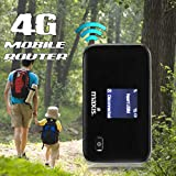 3G 4G LTE Routers Portable Wireless Mobile Hotspot Router SIM TF Card Slot for Cellphone