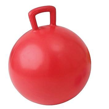Balón saltador 55 cm de color rojo: Amazon.es: Deportes y aire libre