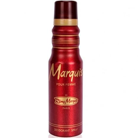 Marquis Pour Femme Deodorant, 175ml Fragrance at amazon