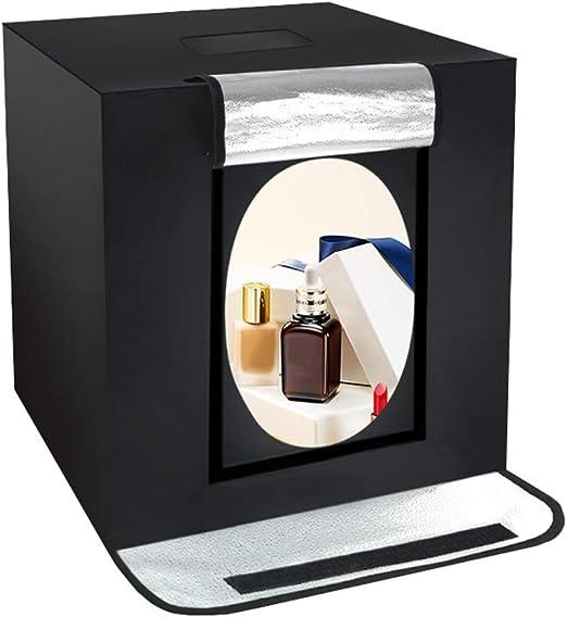 XAOBNIU Carpa con Caja de luz fotográfica, 24x24x24 / 60x60x60cm ...