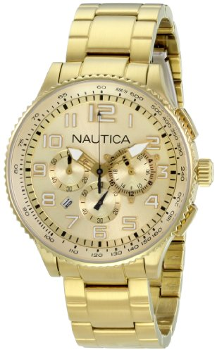 Nautica Men's N26533M OCN 38 MID Br. Chronograph Watch
