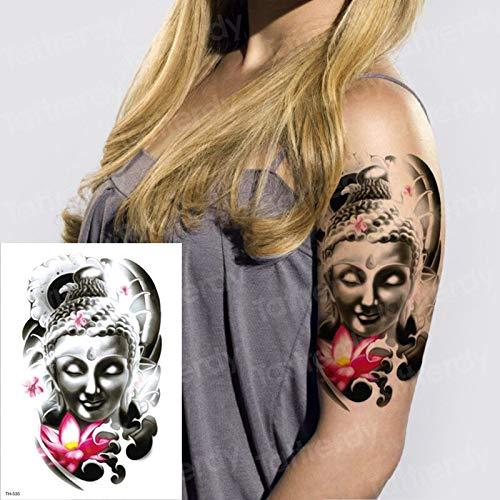 Gran Tatuaje de la Manga del Brazo Impermeable Temporal Tatto ...