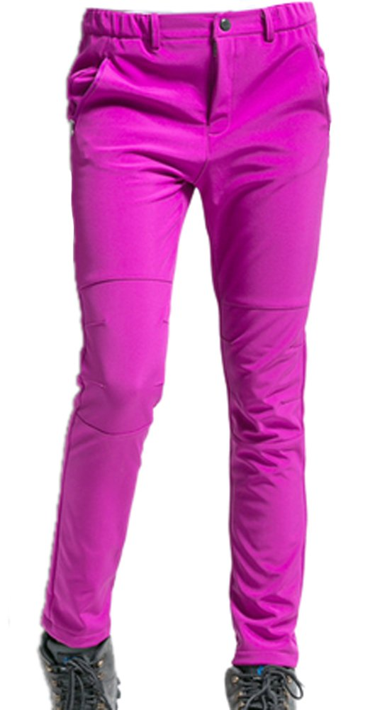Demarkt Impermeable al Viento de Pantalónes de trekking para Mujer Color Rosa