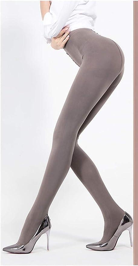 Yulaixuan para mujer 3 pares pantimedias 120 Denier de longitud completa Reforzado Opaque medias de color desnudo con patas