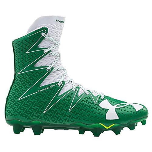 Under Armour New Mens Highlight MC Lacrosse/Football Cleats Green/White Sz 9 M