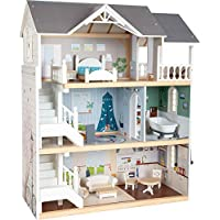 small foot wooden toys Urban Villa Doll House Playset Collection Designed for Children Ages 3+ Years