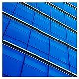 BDF CABL Window Film Transparent Color Blue (36'' X 15ft)
