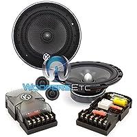 15-MCX6C - Memphis 6.5 50W RMS MCX Series Component Speakers System