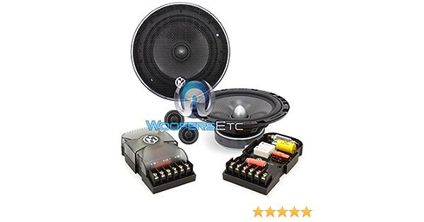 15-MCX6C Memphis 6.5 50W RMS MCX Series Component Speakers System