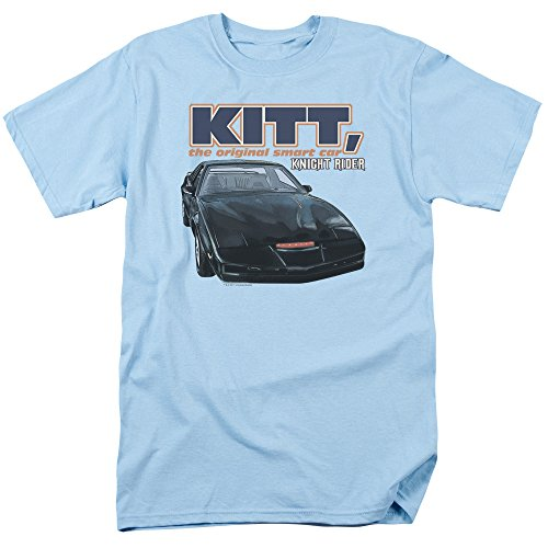 KITT The Original Smart Cat Blue T-shirt - S to 3XL