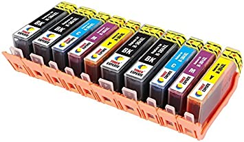 TONER EXPERTE® Reemplazo para HP 364 364XL 10 Cartuchos de Tinta ...