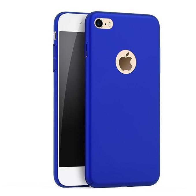 Teryei Funda iPhone 5/ Apple 5s/iPhone alta calidad ultra fina Protector completo PC carcasa Shell Negro Cáscara Dura Case para iPhone SE