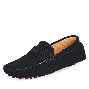 Mode D'été Style Doux Mocassins Hommes Mocassins Haute Qualité En Cuir Véritable Chaussures Hommes Appartements f04Gq
