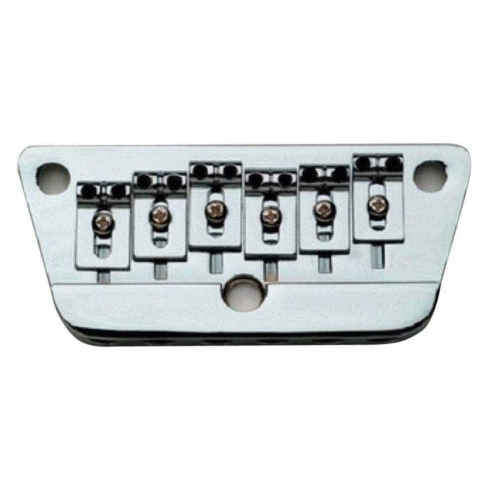 NEW Danelectro Adjustable Bass Bridge CHROME