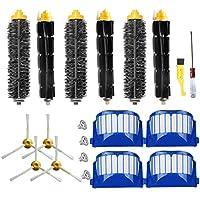 JUMBO FILTER for iRobot Roomba 600 Series (585,595,610,620,630,650,660,680) Vacuum Cleaning Robots Aero Vac Bristle Flexible Beater 3-Armed Side Brush Pack Replenishment Mega Kit