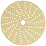 Sunmight 58609 1 Pack 6'' Multi Hole Velcro Disc (Gold Grit 150)
