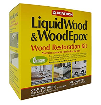 Wrk60r 24oz Wood Restoration Kit from Abatron Inc.
