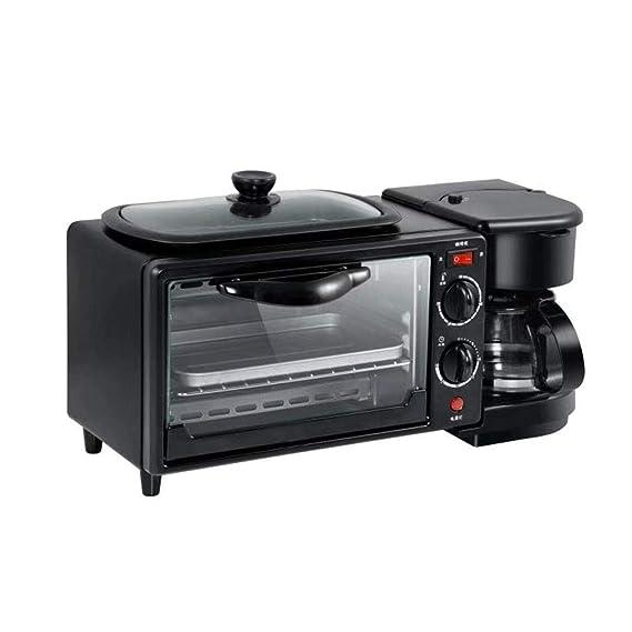 Máquina de desayuno tostadora de horno de café tres en uno, 9 ...