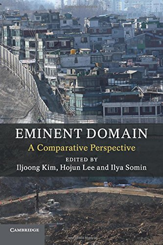 Download Eminent Domain: A Comparative Perspective pdf epub