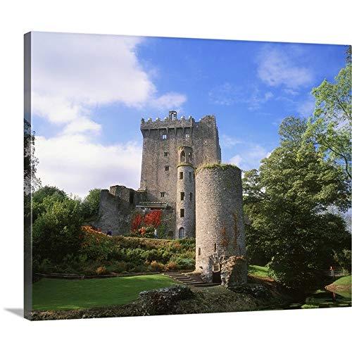 Blarney Castle - Blarney Castle, County Cork, Ireland Canvas Wall Art Print, 20
