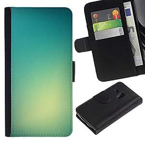 Samsung Galaxy S3 MINI / i8190 (Not For Galaxy S3) Modelo colorido cuero carpeta tirón caso cubierta piel Holster Funda protección - Light Color Bright Fog Glass Sun