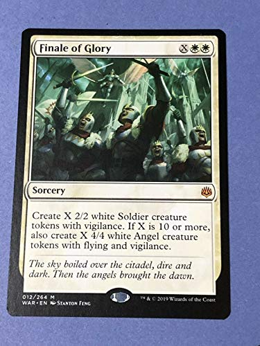 MTG War of the Spark: Finale of Glory - 012/264 - Mythic Rare - NM/M