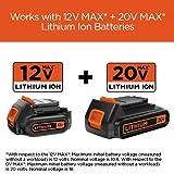 BLACK+DECKER 20V MAX Lithium Battery Charger, 2 Amp