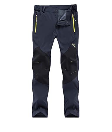 829c421d351 GTKC Couples Spring Summer Quick Drying Waterproof Walking Trousers Outdoor  Hiking Climbing Pants  Amazon.co.uk  Sports   Outdoors