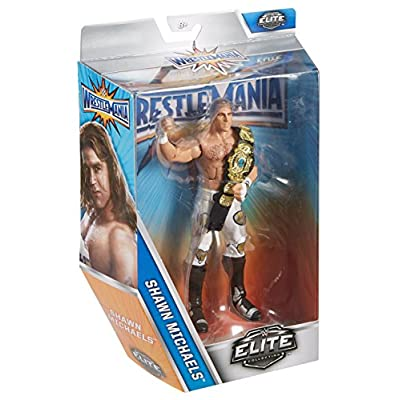 WWE Wrestlemania Elite Shawn Michaels Wrestlemania 12 Action Figure: Toys & Games